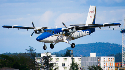 C-FDHT - Viking DHC-6-400 Twin Otter - Private