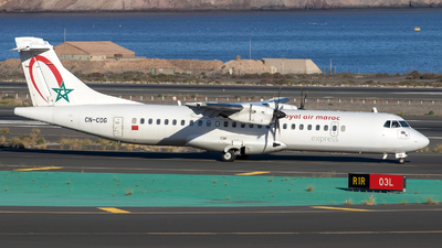 A picture of CNCOG - ATR 72600 - Royal Air Maroc - © Gerrit Griem