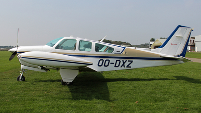 OO-DXZ - Beechcraft F33A Bonanza - Private