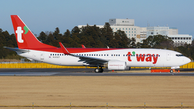 HL8327 - Boeing 737-8KN - T'Way Air