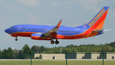 N416WN - Boeing 737-7H4 - Southwest Airlines