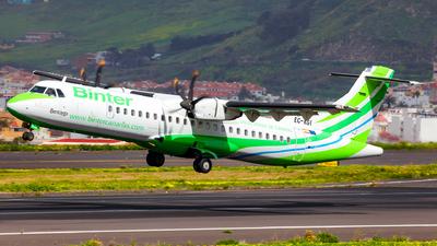 EC-KGI - ATR 72-212A(500) - Binter Canarias (Naysa)