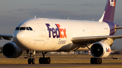 A picture of N743FD - Airbus A300B4622R(F) - FedEx - © Alex Praglowski