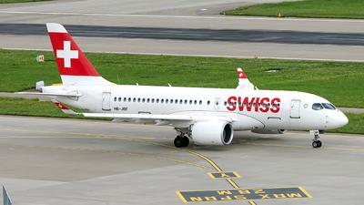 HB-JBF - Airbus A220-171 - Swiss