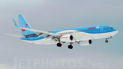 OO-JEF - Boeing 737-8K5 - Jetairfly