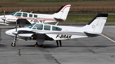 A picture of FBRAK - Beech 95B55 Baron - [TC1170] - © bruno muthelet