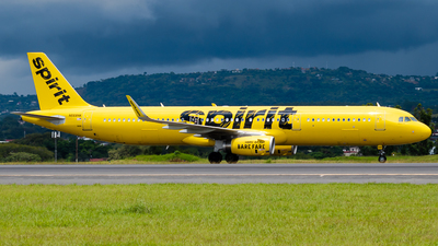 A picture of N668NK - Airbus A321231 - Spirit Airlines - © Ivan Jimenez Rojas