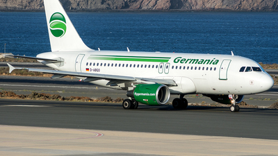 D-ABGO - Airbus A319-112 - Germania