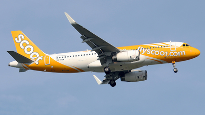 9V-TRM - Airbus A320-232 - Scoot