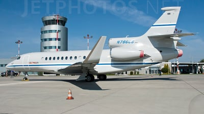N786CS - Dassault Falcon 7X - Private
