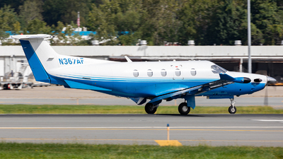 N367AF - Pilatus PC-12/47E - Private