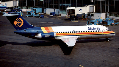 N1069T - McDonnell Douglas DC-9-15 - Midway Airlines