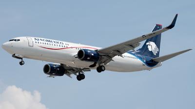 A picture of XAOCA - Boeing 7378JP - Aeromexico - © Caballero Aguila