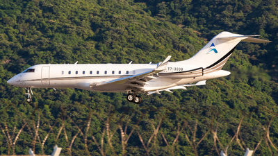 T7-3338 - Bombardier BD-700-1A11 Global 5000 - Private