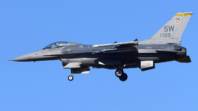 97-0109 - Lockheed Martin F-16C Fighting Falcon - United States - US Air Force (USAF)