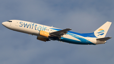 N807TJ - Boeing 737-4Q8 - Swiftair
