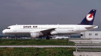 D-AIPE - Airbus A320-211 - Onur Air