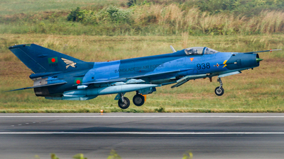 F938 - Chengdu F-7BG - Bangladesh - Air Force