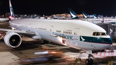 A picture of BKPH - Boeing 777367(ER) - Cathay Pacific - © Adrian Fong