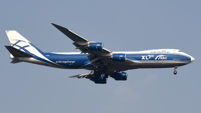 VP-BBY - Boeing 747-83QF - Air Bridge Cargo