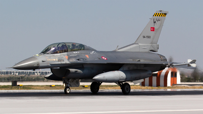 94-1560 - General Dynamics F-16D Fighting Falcon - Turkey - Air Force