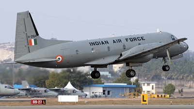 H-2184 - Hindustan Aeronautics HAL-748 M - India - Air Force