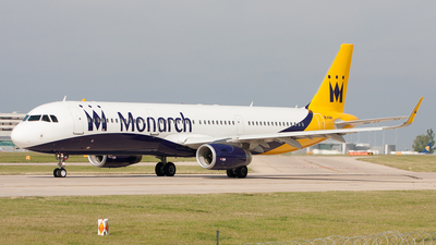 G-ZBAM - Airbus A321-231 - Monarch Airlines