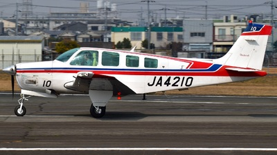 JA4210 - Beechcraft A36 Bonanza - SGC Saga Aviation