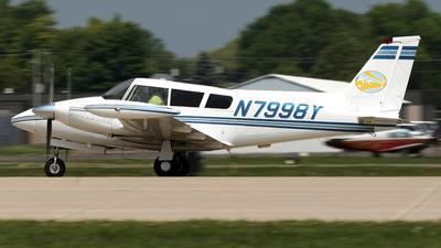 A picture of N7998Y - Piper PA30 Twin Comanche - [301103] - © Jeremy D. Dando