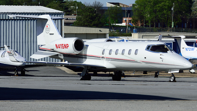 A picture of N415NP - Learjet 60 - [60024] - © Agustin Anaya