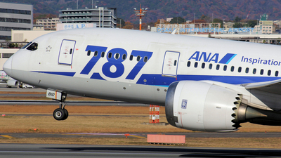JA810A - Boeing 787-8 Dreamliner - All Nippon Airways (ANA)