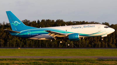 A picture of VHVLI - Boeing 7373H6(SF) - Nauru Airlines - © Brandon Giacomin