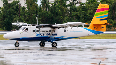 VQ-TGW - De Havilland Canada DHC-6-300 Twin Otter - interCaribbean Airways
