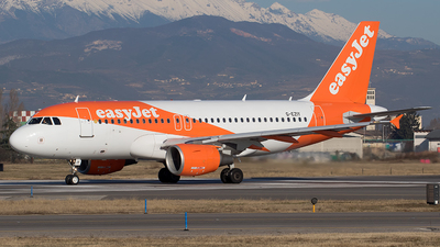 A picture of GEZIY - Airbus A319111 - easyJet - © Roberto Bianchi