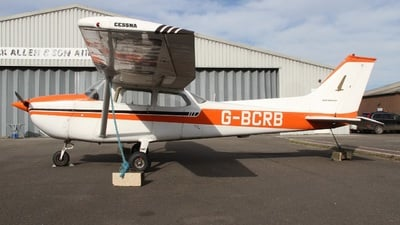G-BCRB - Cessna 172M Skyhawk - Private