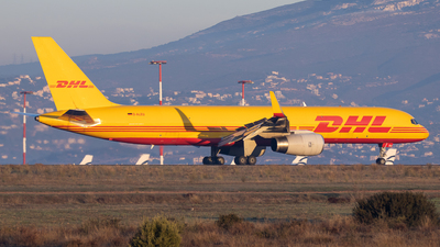 A picture of DALEU - Boeing 75723N(SF) - DHL - © Kostas Marmarelis