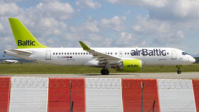 YL-CSM - Airbus A220-371 - Air Baltic