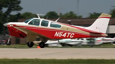 A picture of N54TC - Beech F33A Bonanza - [CE661] - © Jeremy D. Dando