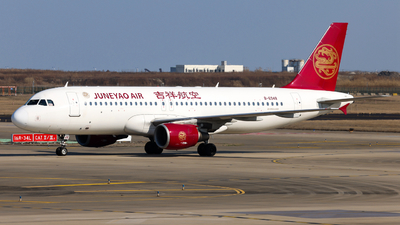 A picture of B6948 - Airbus A320214 - Juneyao Airlines - © Jiaming