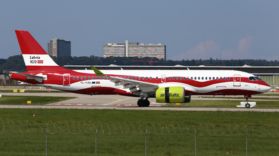 A picture of YLCSL - Airbus A220300 - Air Baltic - © Eric Boettcher
