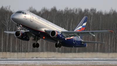 A picture of RA89098 - Sukhoi Superjet 10095B - Aeroflot - © Maksim Golbraiht