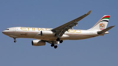 A6-DCB - Airbus A330-243F - Etihad Cargo