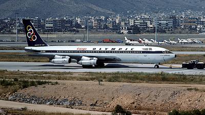 SX-DBO - Boeing 707-351C - Olympic Airways Cargo