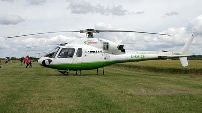 A picture of GGHER - Airbus Helicopters AS355 Ecureuil - [5658] - © Terry Figg