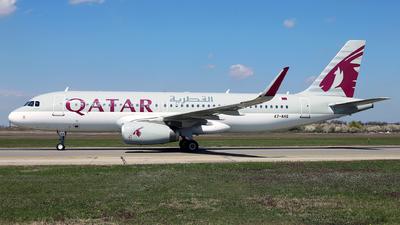 A picture of A7AHS - Airbus A320232 - Qatar Airways - © Marin Ghe.