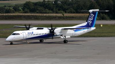 A picture of JA853A - De Havilland Canada Dash 8400 - All Nippon Airways - © kouyagi