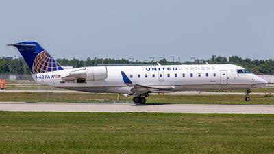 N439AW - Bombardier CRJ-200LR - United Express (Air Wisconsin)