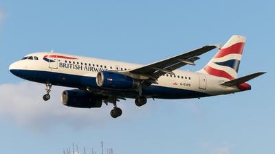 A picture of GEUPB - Airbus A319131 - British Airways - © Daniel Riederer