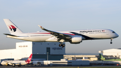 9M-MAD - Airbus A350-941 - Malaysia Airlines