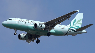 5B-DCW - Airbus A319-114 - Cyprus Airways
